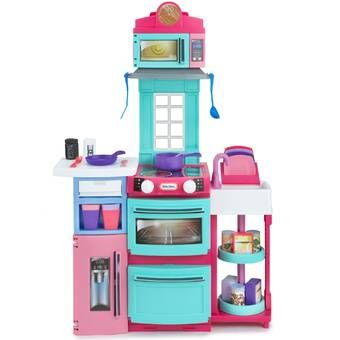 Laundry Play Housekeeping Set Little Tikes Bright Kitchens Playset