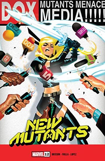 New Mutants 2019 12 In 2020 Dragon Comic Mutant Comic Covers