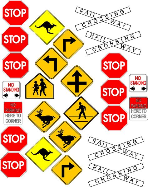 Street Signs (save to computer & size)
