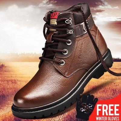 OSCO Men Winter Shoes Warm Comfortable