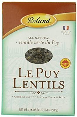 Amazon Com Roland Foods Le Puy Green Lentils Specialty Imported Food 17 6 Ounce Bag Grocery Gourmet Food French Lentils Lentils Importance Of Food