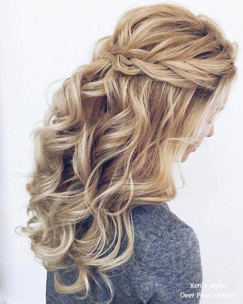 Like this hairstyle! #promhairstyleshalfuphalfdown #Shorthairprom