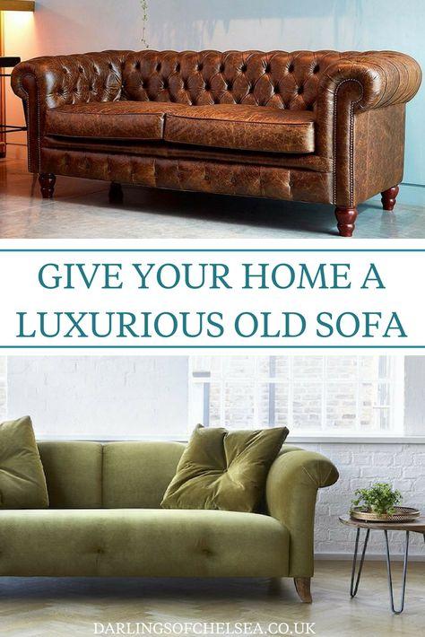 Luxurious Old Fashioned Sofa Styles   Autumn Interior ...