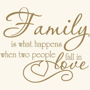 Family Love Quote Vinyl Wall Decal Sticker Art-Words/Lettering Home Décor