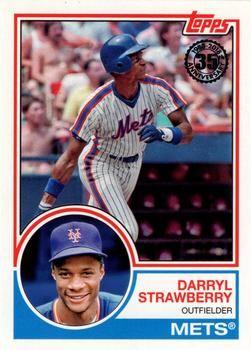 2018 Topps 1983 Topps Baseball 83 48 Darryl Strawberry