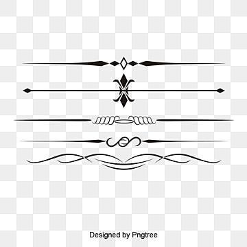 Vector Lines Creative Divider Pretty Vector Creative Vector Lines Vector Dividing Vector Line Design Pattern Pretty Vectors Border Pattern