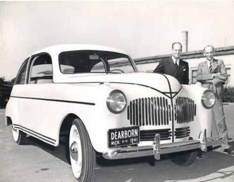 Znalezione obrazy dla zapytania henry ford hemp car