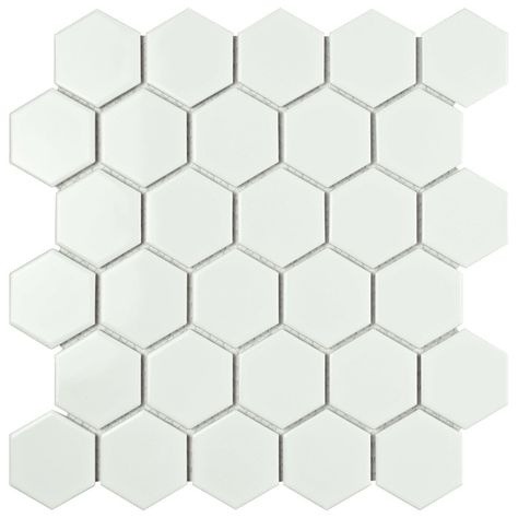 Retro 2 X 2 Porcelain Mosaic Tile Mosaic Tiles Tiles Shower Floor