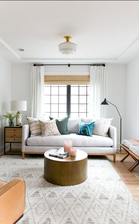On The Design Blog What Is West Coast Living How To Create This Look By Studio Mcqueen Living Room Scandinavian Comfy Living Room Farm House Living Room