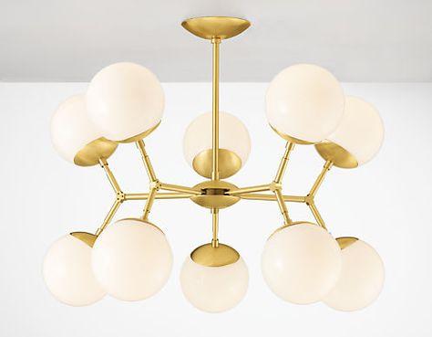 Room & Board -  Cosma Chandeliers - Modern Pendants & Chandeliers - Modern Lighting