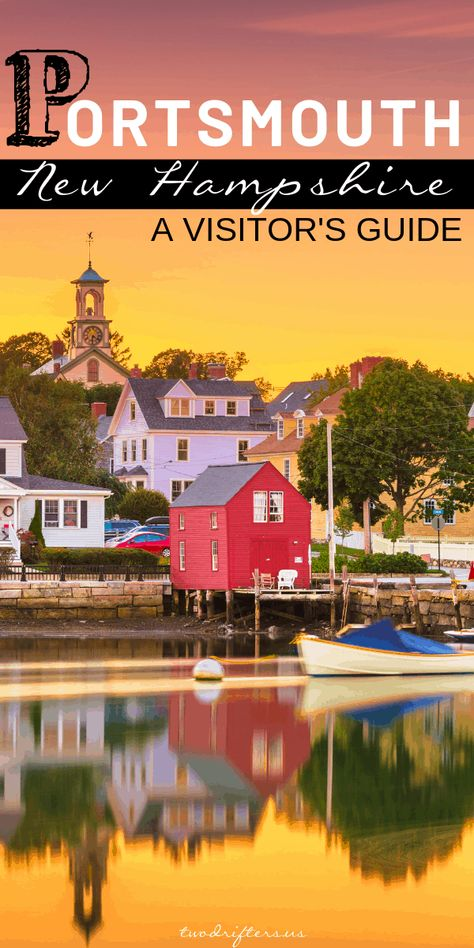 For a great New England coastal getaway, you can't beat Portsmouth. This post will tell you all the best things to do in Portsmouth NH (+ where to eat! New England Fall, New England Travel, Backpacking Europe, Spain Travel, Travel Usa, Belfast, Bora Bora, Belize, Charleston Sc
