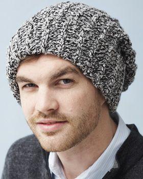 Bernat Denimstyle - Ribbed Hat (crochet)