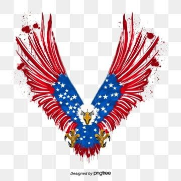 Hand Painted American Flag Eagle Animal National Flag Vintage Png And Vector With Transparent Background For Free Download In 2021 Hand Painted American Flag American Flag Eagle American Flag Background