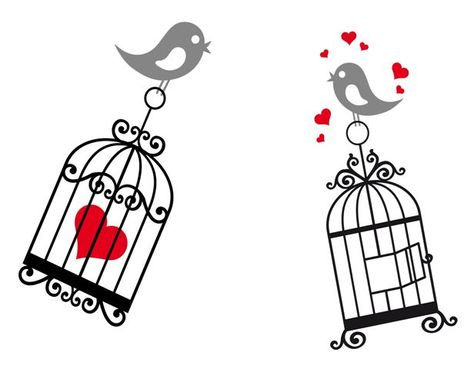 Bird Cage Wall Decals  www.decalmywall.com