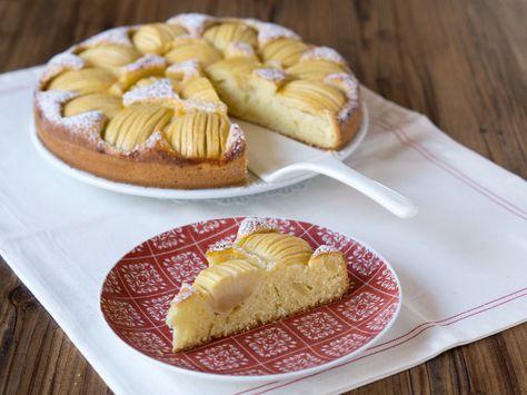 Oma Barbels Apfelkuchen Danielas Foodblog Rezept Lebensmittel Essen Kuchen Apfelkuchen