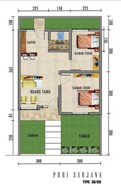 Desain Rumah Minimalis Type 36 60 Cek Bahan Bangunan