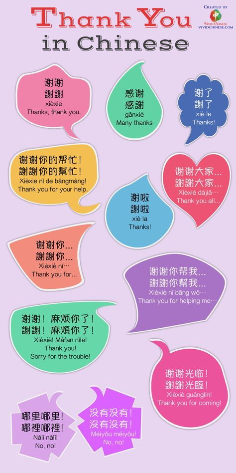 """How Chinese people actually say """"thank you"""" in Mandarin Chinese - Vivid Chinese"""