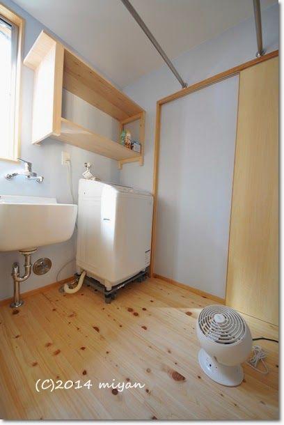 Web内覧会 期待以上に便利だった洗濯室 ぼちぼち暮らし 洗濯室 和風の家の設計 住宅設計プラン
