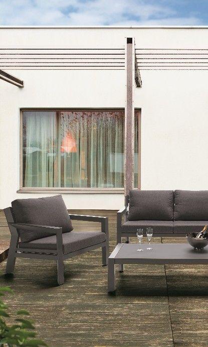 Gartensofa Rustikaleterrasse So Gemutlich Mit Der Sofagruppe