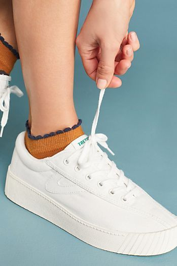 Tretorn Nylite Bold Platform Sneakers | shoes in 2019