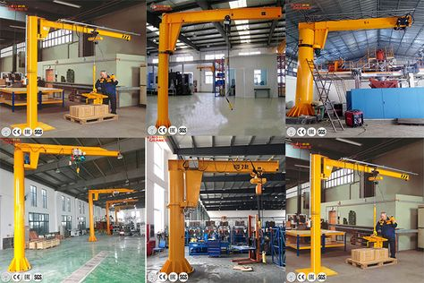 Source Kino Crane 1 Ton Electric Offshore Platform Cantilever Ground Mounted Columned Jib Crane On M Alibaba Com In 2020 Oil Platform Offshore Manufacturing