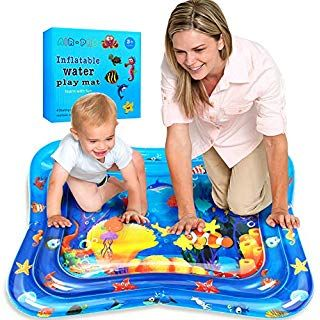 Inflatable Water Play Mat Baby Swonuk Tummy Time Play Activity Baby Playmats Leakproof Pvc For Infants Amp Toddlers Fun Activities For Toddlers Baby Play Mat