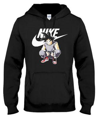 Ball Goku Vs Vegeta Tribute Nike Adidas Dragon Hoodie