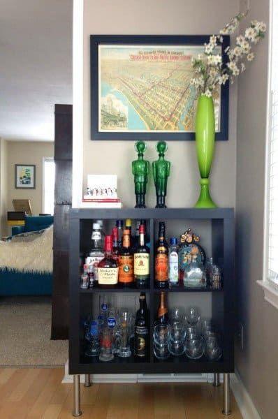 Top 70 Best Home Mini Bar Ideas Cool Beverage Storage Spots Diy Home Bar Home Bar Decor Living Room Bar