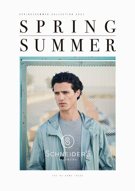 Kunde: Schneiders Salzburg Lookbook Spring Summer 2021