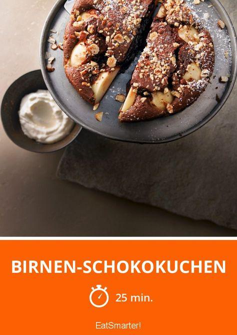 Birnen Schokokuchen Rezept Obstkuchen Birne Obstkuchen Und Obst