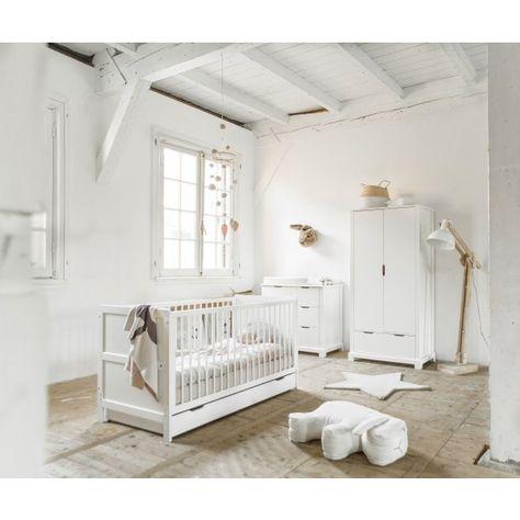 Inspiration Chambre Bebe Fille Decoration En Blanc Et Rose