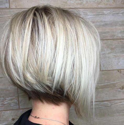 Short Textured Angled Bob From G Aveda Salon Spa Artist Philip Angled Bob Hairstyles Angled Bob Haircuts Thick Hair Styles