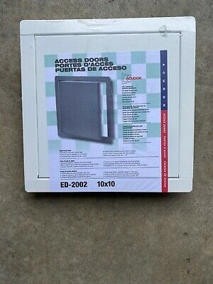 Ad Ebay Url Acudor Ed 2002 General Purpose Flush Access Door 10 X 10 White In 2020