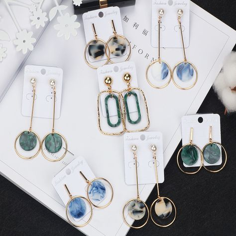 Simple Long Crystal Earring Charm Jewelry Outfit Accessories For Teenage Girl From Touchy Style With Free International Shipping.