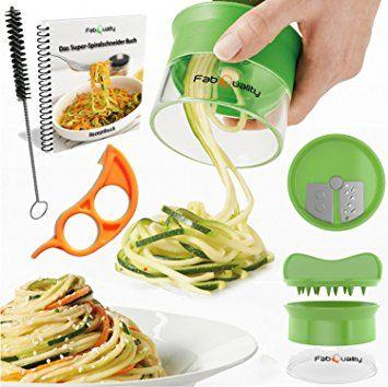 Cortador En Espiral Manual Para Hacer Espaguetis De Verduras Y Patatas Pelador De Espárragos C Best Vegetable Spiralizer Vegetables Spiral Vegetable Slicer
