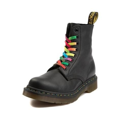 the best exceptional range of styles huge inventory Womens Dr. Martens Pascal Multicolor Stitch 8-Eye Boot ...