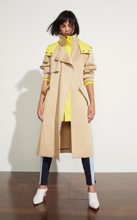 Sportmax Alvaro Cotton Trench Coat