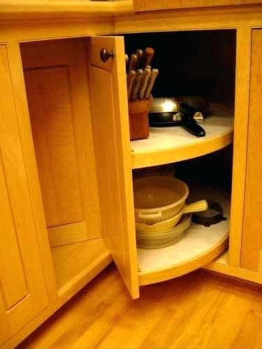 Interesting Kitchen Cabinet Carousels U7895535 Inspiring Corner Base Cabinet Carouse Kitchen Cabinet Storage Minimalist Kitchen Cabinets Kitchen Corner Storage