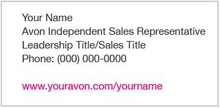 Looking For An Avon Representative Sign Up As My New Customer And