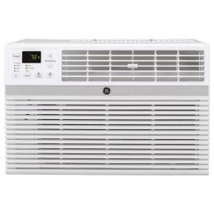 Ge 8 000 Btu 115 Volt Smart Window Air Conditioner With Remote In