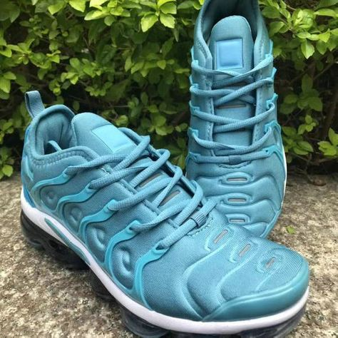 af347d058f567 Males Nike Air VaporMax Plus TN Sky Blue White Men s Running Shoes  NIKE006651