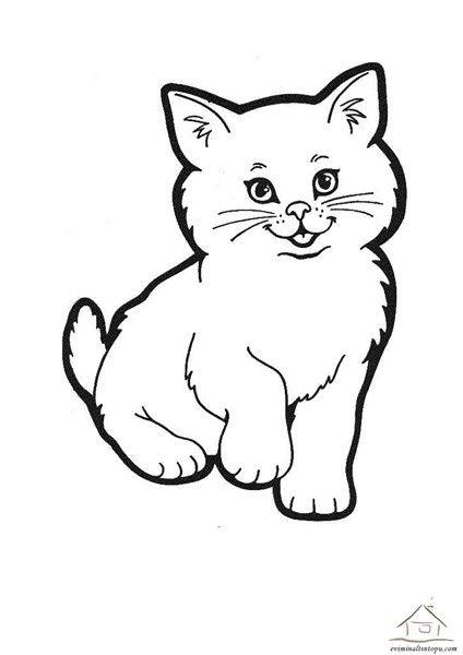 Kedi Kopek Boyama Sayfalari 2020 Kolay Cizimler Boyama