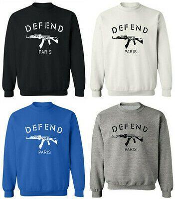 eBay Sponsored) Mens DEFEND Paris AK47 Pullover Sweatshirts