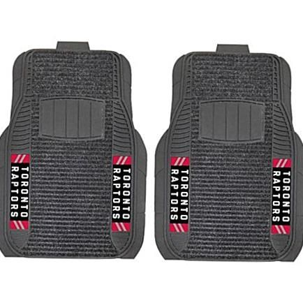 Deluxe Car Mats Are Perfect For Anyone Who Is Serious About Their Ride And Team Pride Vinyl And Dual Ribbed Carpet Ensures A D In 2020 Car Mats Toronto Raptors Raptors