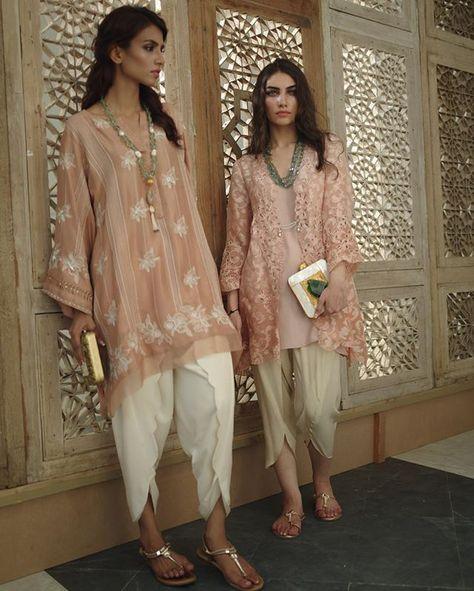 Pakistani ensembles by Misha Lakhani.