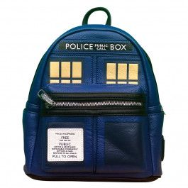 5eb2f8b504 Doctor Who  Loungefly TARDIS Mini Backpack