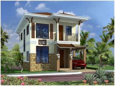 Fotos De Fachadas De Casas De Dos Pisos Sencillas Two Story House Design Design Your Dream House Small House Architecture