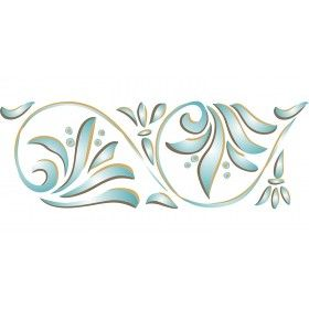 Create Stunningly Detailed Borders With Stencils For Walls Art Nouveau Stencil Border St Stencil Patterns Templates Wall Stencil Patterns Wall Stencil Border