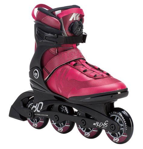 Bladerunner Womens 2014 PRO 80 Skates Silver//Blue 9 0T306200835