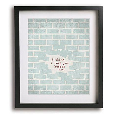 Lego House   Ed Sheeran inspired song lyric art print ...